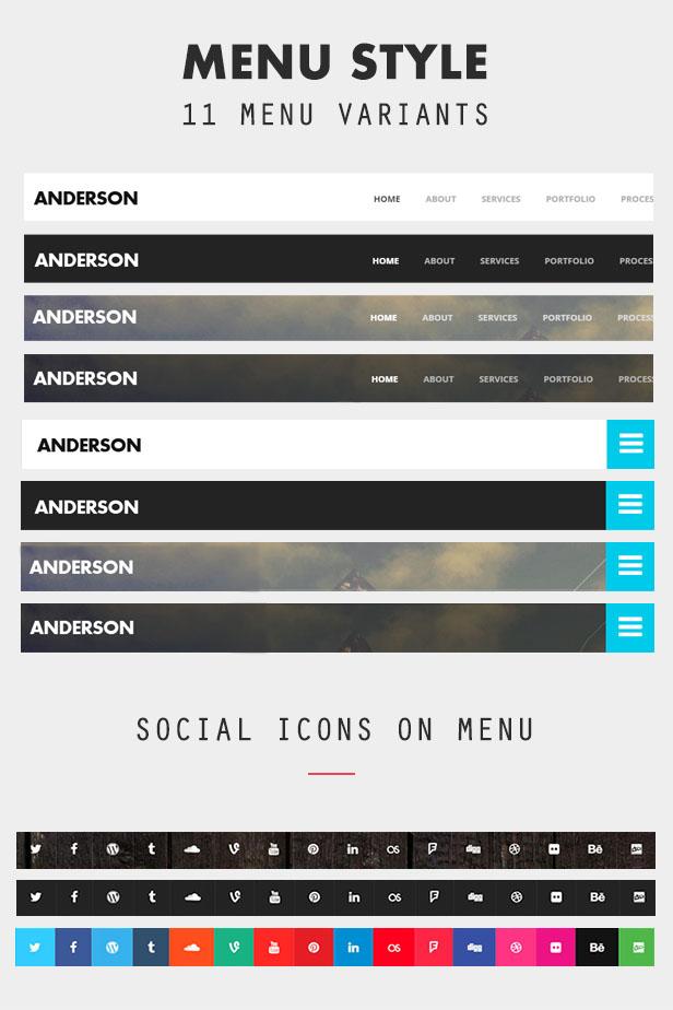 Anderson - Onepage Multipurpose Joomla Template