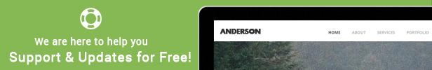 Anderson - Onepage Multipurpose Template