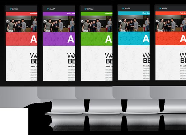 Xiara - Responsive Onepage Parallax HTML Template